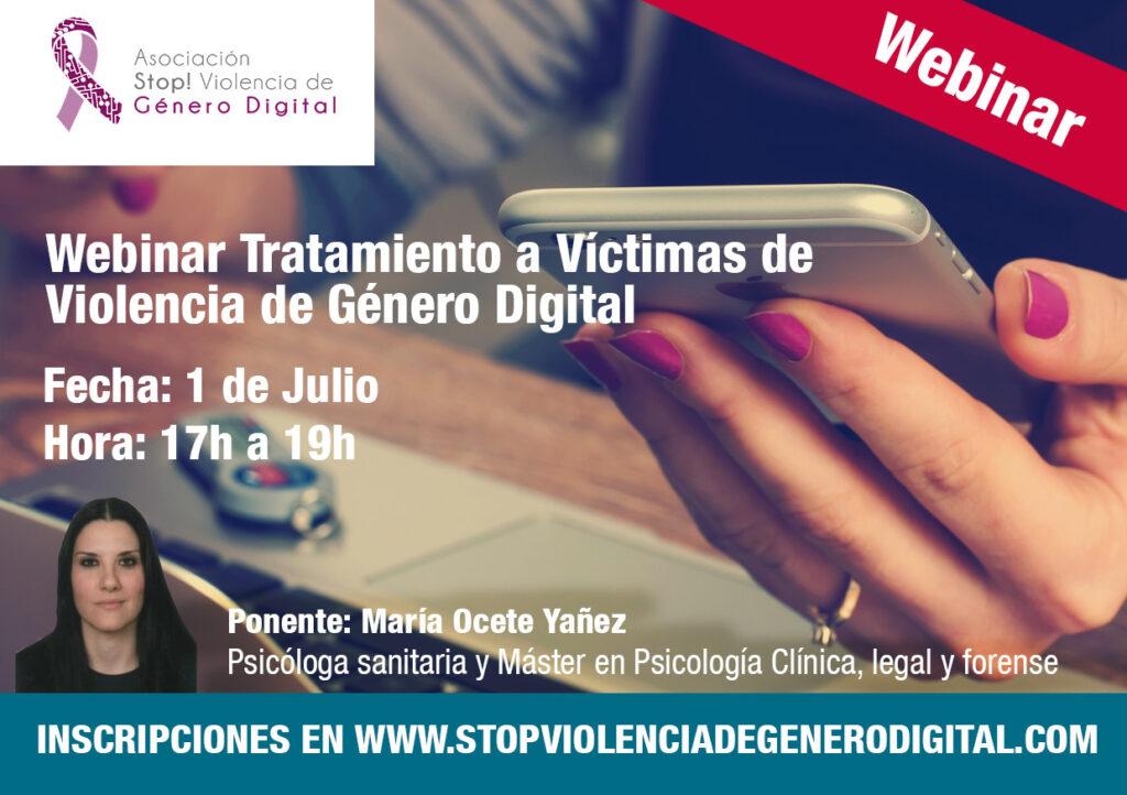 tratamiento victimas de violencia de genero digital